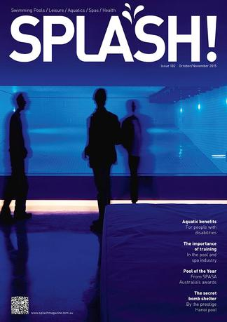 Splash magazine cover