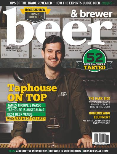 Beer & Brewer Magazine cover