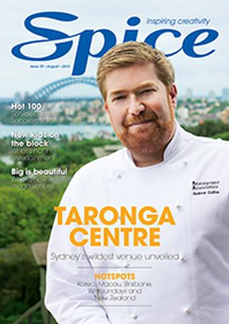 Spice - Main Event magazine cover