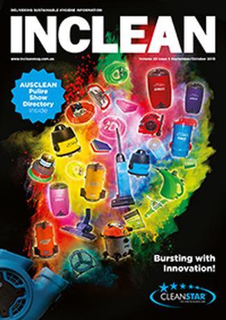 INCLEAN magazine cover