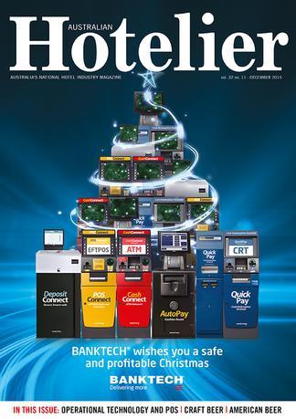 Australian Hotelier magazine cover