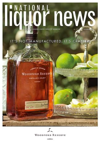 National Liquor News magazine cover
