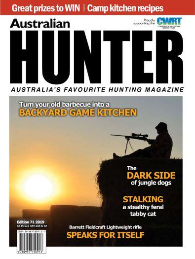 Australian Hunter magazine cover