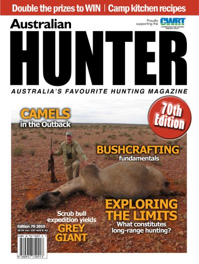 Australian Hunter magazine cover