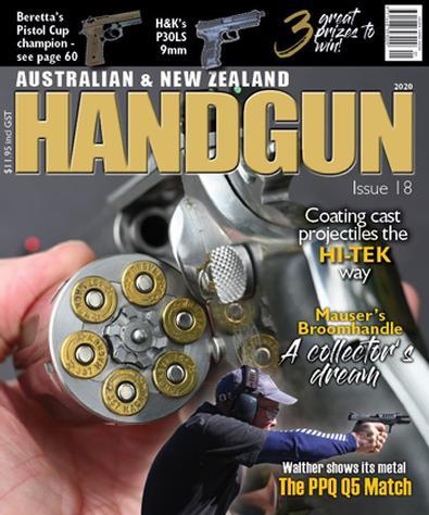 Australian & New Zealand Handgun magazine cover