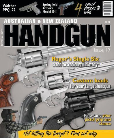 Australian & New Zealand Handgun magazine cover