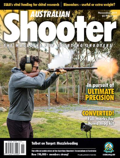 Australian Shooter magazine cover