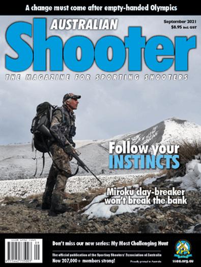 Australian Shooter magazine cover