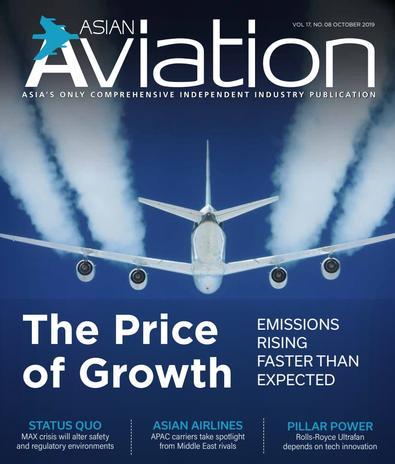 Asian Aviation magazine cover