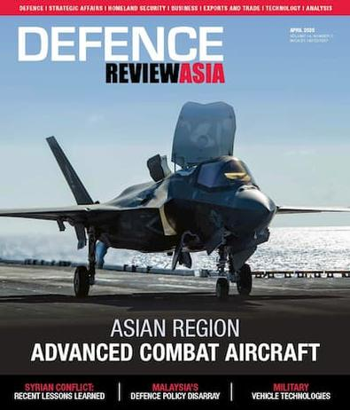 Defence Review Asia magazine cover