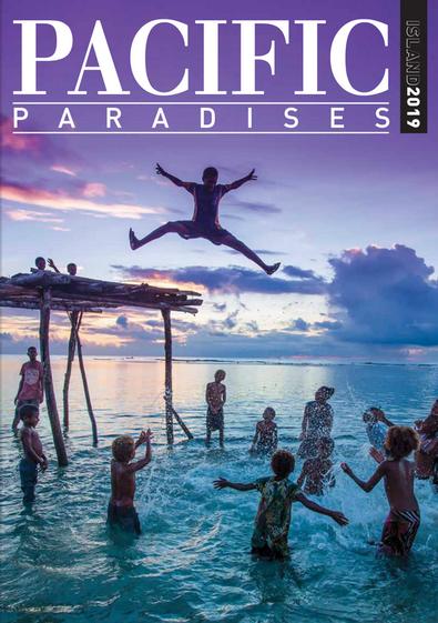 Pacific  Island Paradises magazine cover