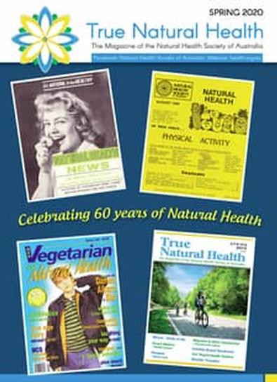 True Natural Health Magazine cover
