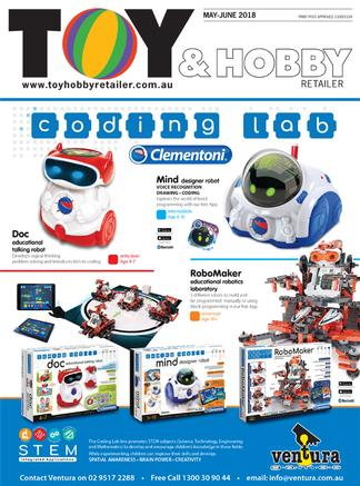 Toy & Hobby Retailer magazine cover