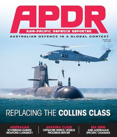 Australian Defence Magazine cover