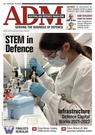 Australian Defence Magazine cover