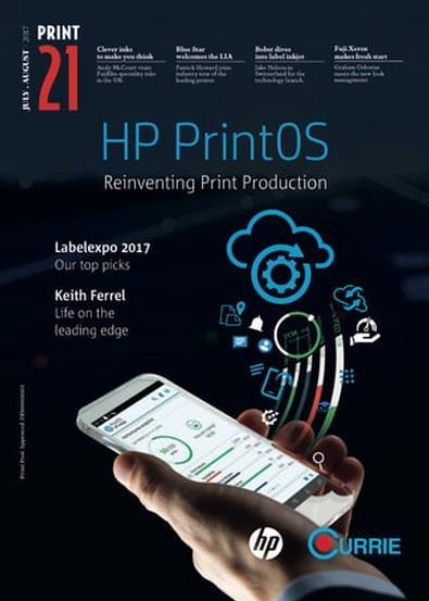 Print21 magazine cover