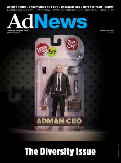 AdNews magazine cover