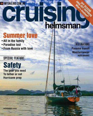 Cruising Helmsman magazine cover