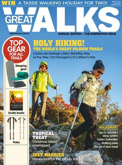 Great Walks magazine cover