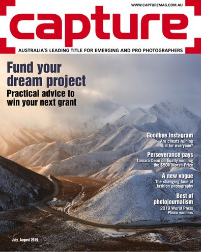 Capture magazine cover