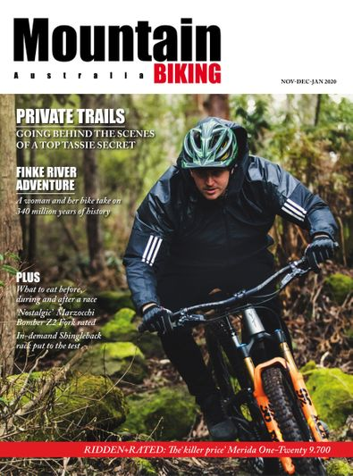 Mountain Biking Australia magazine cover
