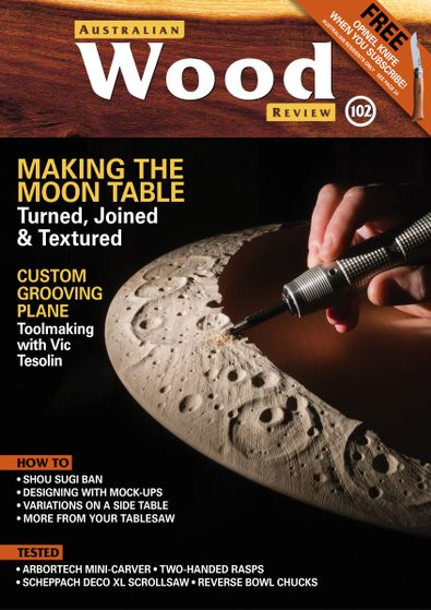 Australian Wood Review magazine cover