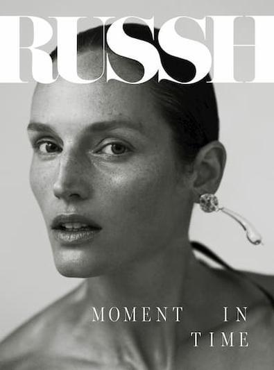 RUSSH magazine cover