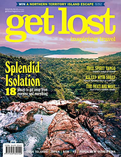 get lost Travel Magazine cover