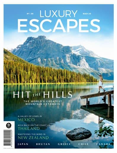 Luxury Escapes Magazine cover