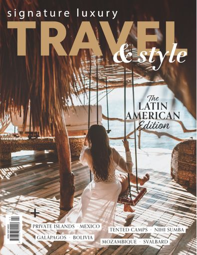 Signature Luxury Travel & Style magazine cover