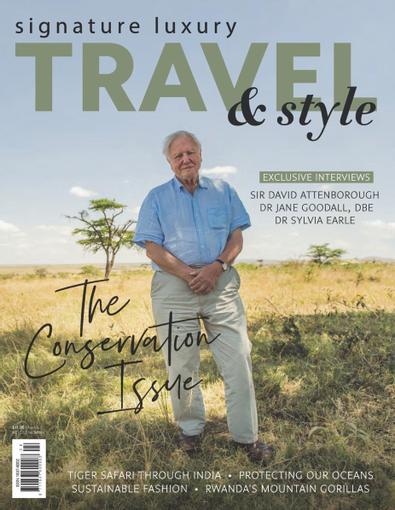 Signature Luxury Travel & Style magazine cover