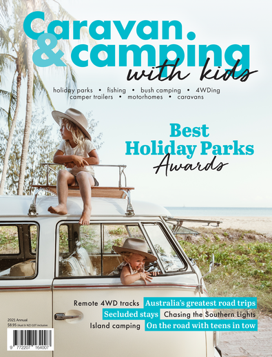 Caravan & Camping with Kids magazine cover