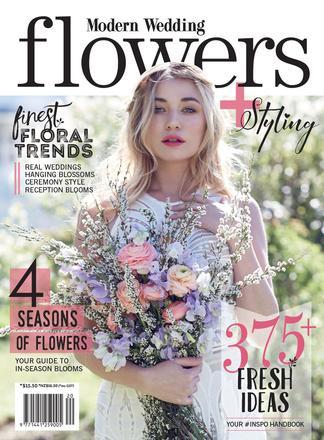 Modern Wedding Flowers magazine cover