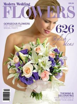Modern Wedding Flowers 10 magazine cover