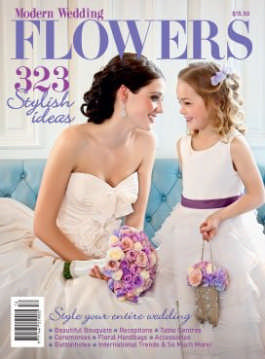 Modern Wedding Flowers 12 magazine cover