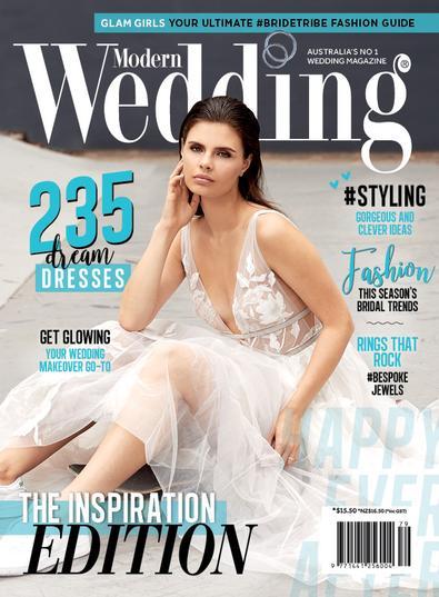 Modern Wedding Magazine cover