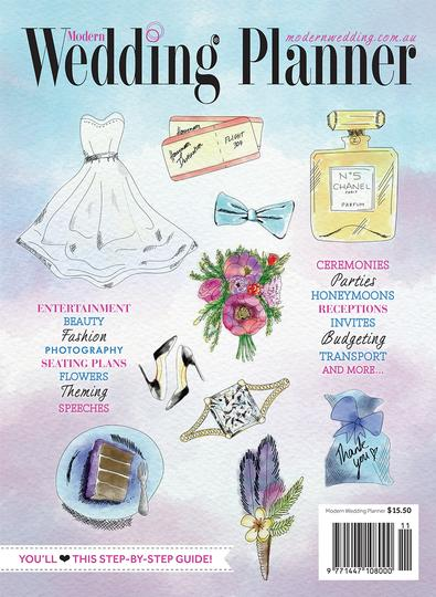 Modern Wedding Planner magazine cover