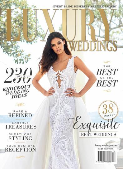 LUXURY WEDDINGS magazine cover