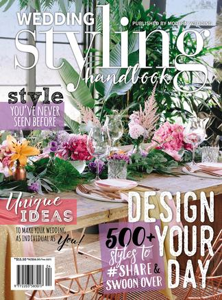Modern Wedding Styling Handbook magazine cover