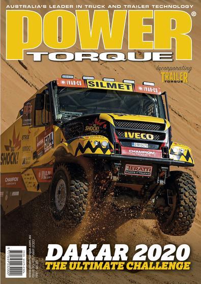 PowerTorque Magazine cover
