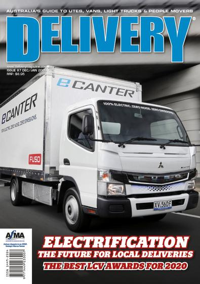 Delivery Magazine cover