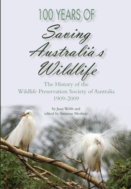 100 Years of Saving Australia's Wildlife cover