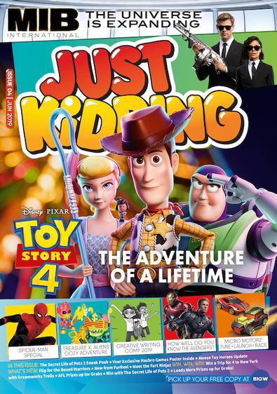 Just Kidding magazine cover