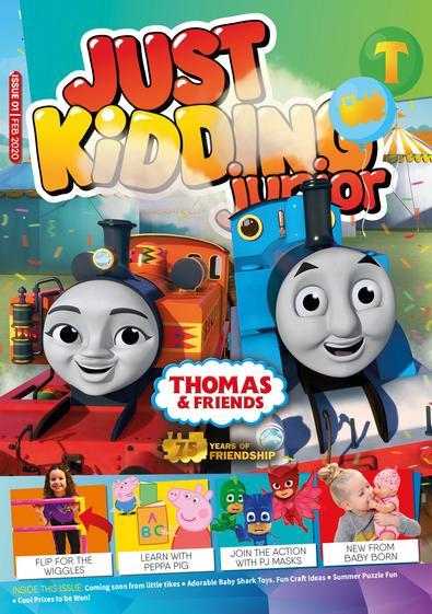 Just Kidding Junior magazine cover