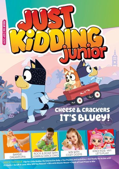 Just Kidding Junior magazine subscription