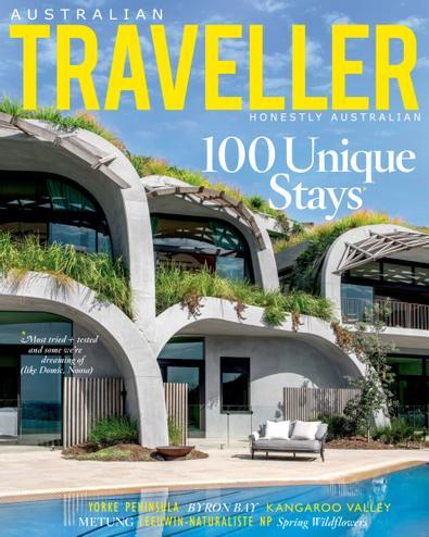 Australian Traveller magazine cover