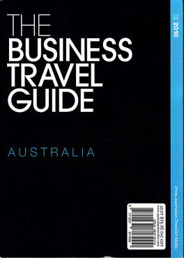 The Business Travel Guide cover