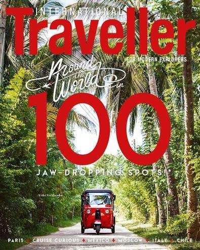International Traveller magazine cover