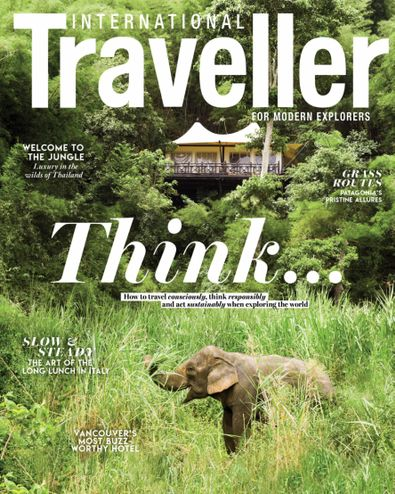International Traveller magazine cover
