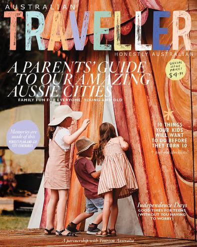AT: A Parents' Guide to Our Amazing Aussie Cities magazine cover